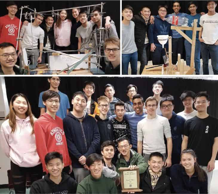 Burnaby Schools Physics Competition Awards