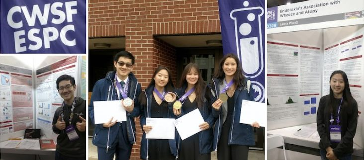Top Science Awards Won by Burnaby students