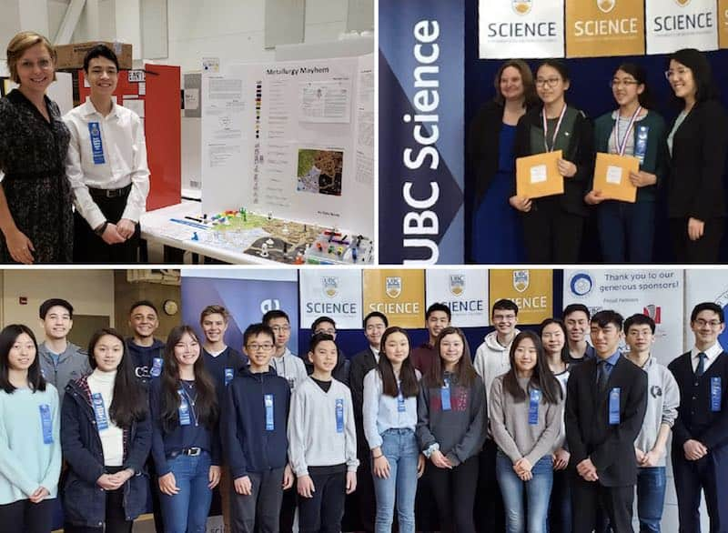 Science Fair Burnaby Student Winners
